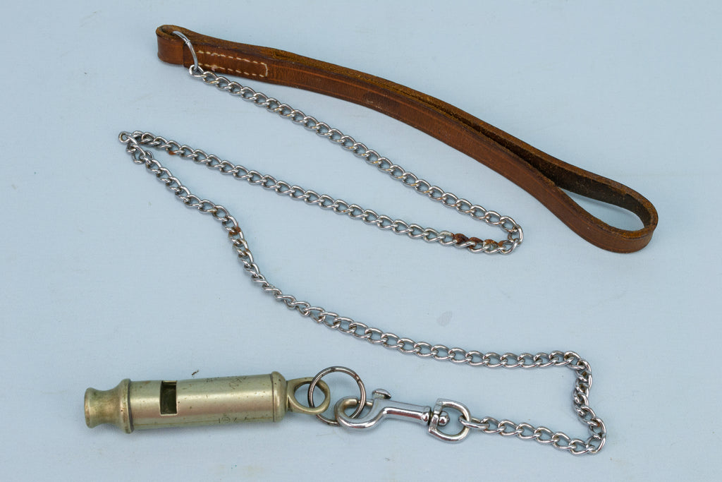 J HUDSON & Co Police Whistle 1883-84 Antique Victorian