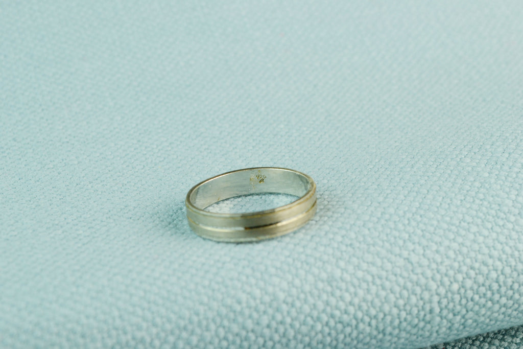 Ring Sterling Silver Minimalist Band