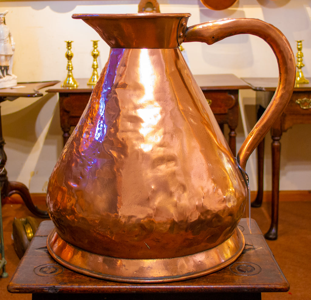 Massive 5 Gallon Georgian Copper Jug circa 1800