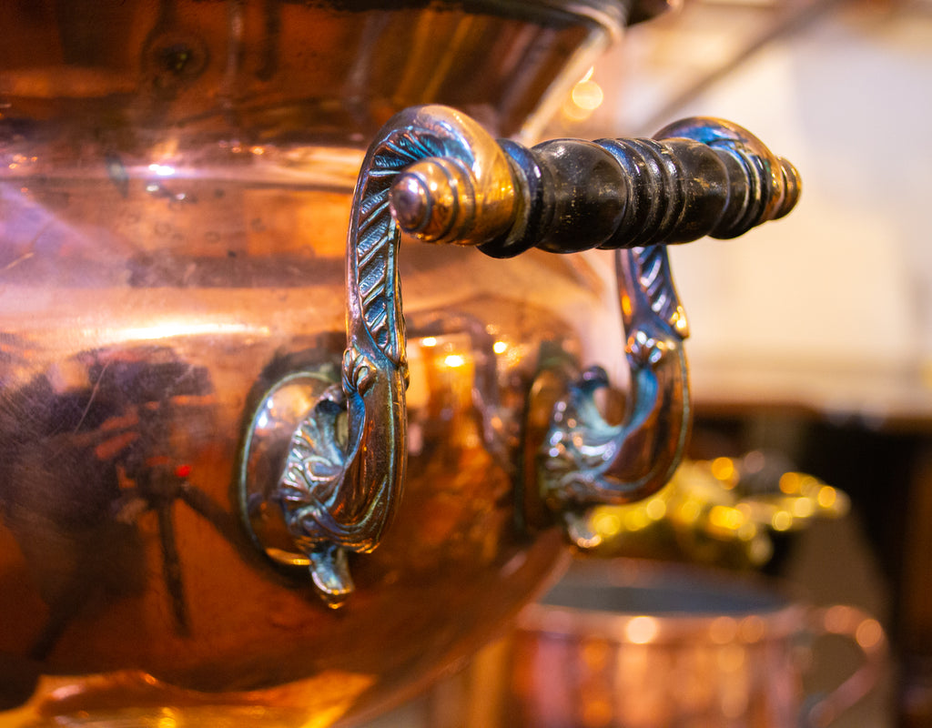 Copper Samovar or Hot Water Urn English Early 19th Century