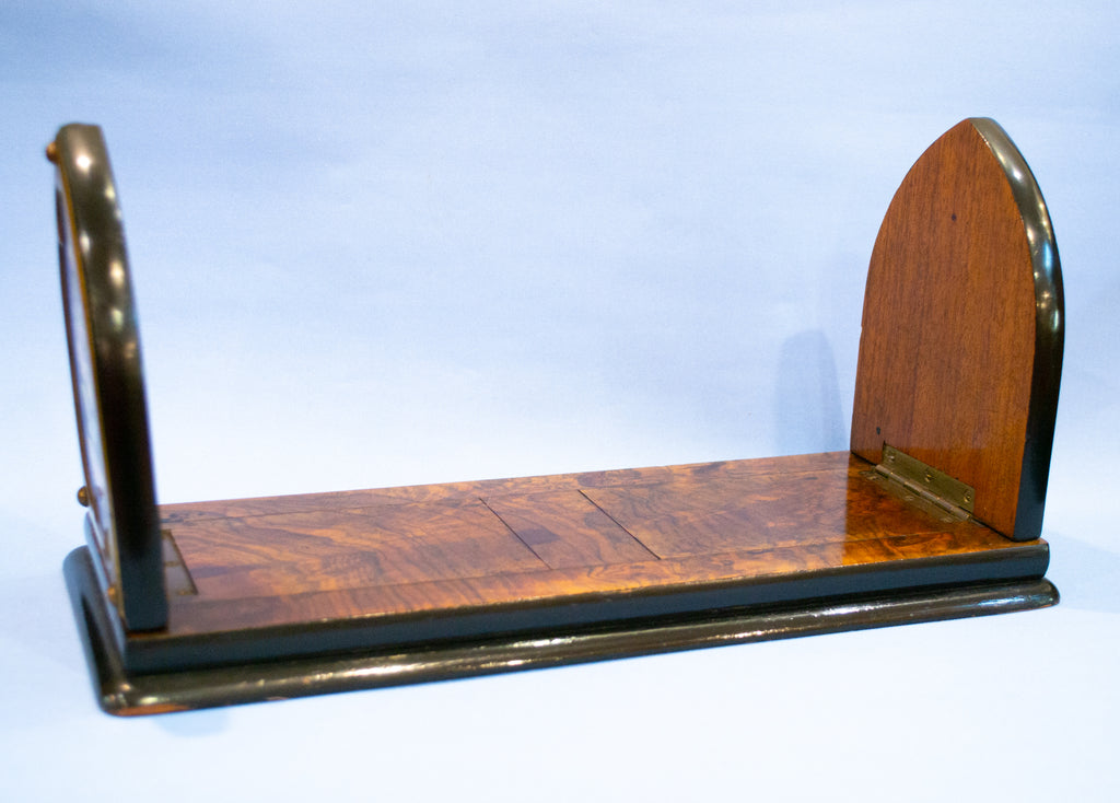 Gothic Revival Sliding Book Shelf circa 1850