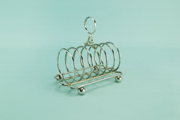 Arts & Crafts toast rack, early 1900s