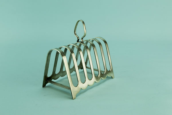 Art Deco toast rack, circa 1930