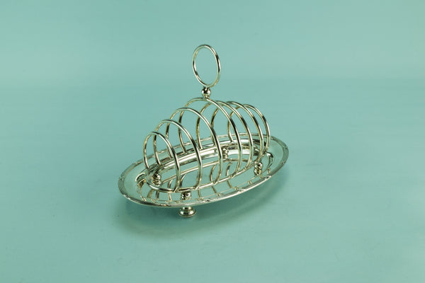 Mappin & Webb toast rack, early 1900s