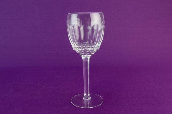 6 hock wine glasses by Tyrone