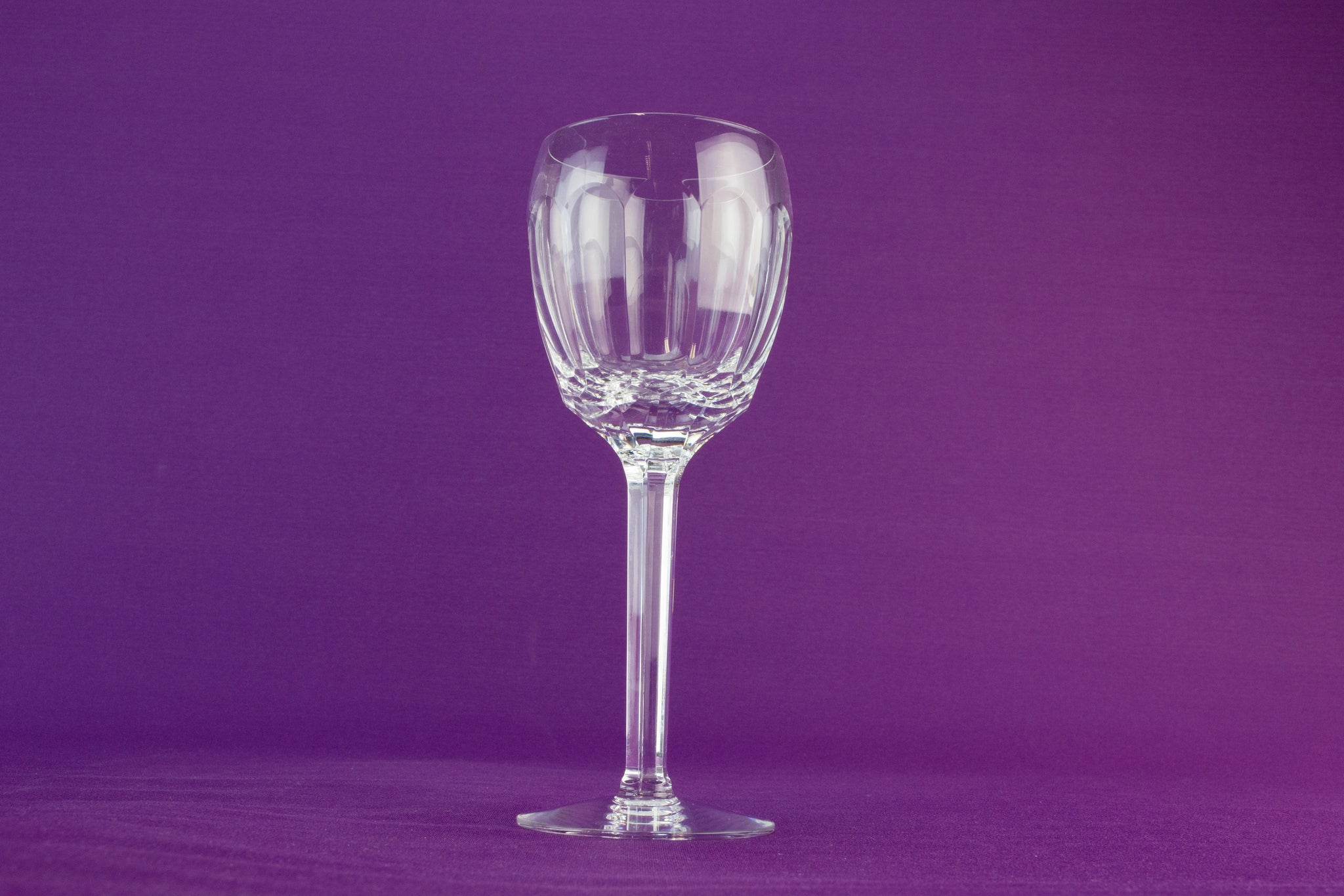 6 hock wine glasses by Tyrone by Lavish Shoestring