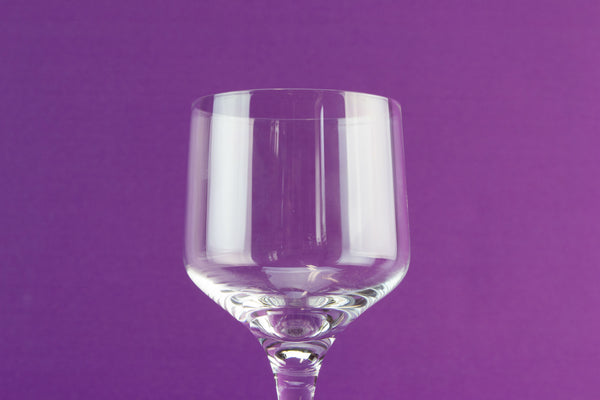 6 Orrefors Rhapsody wine glasses by Lavish Shoestring