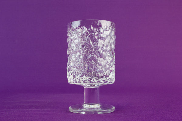 6 Whitefriars port glasses, circa 1970 by Lavish Shoestring