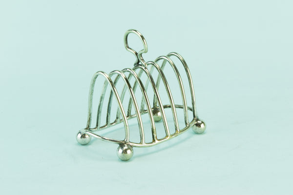 Small toast rack, early 1900s