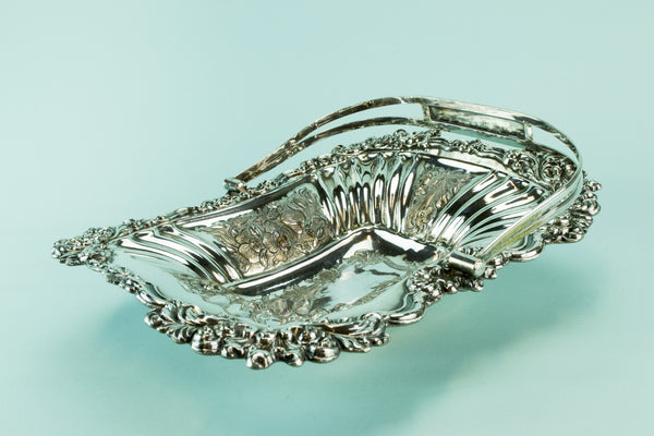Silver plated fruit basket, mid 19th century by Lavish Shoestring