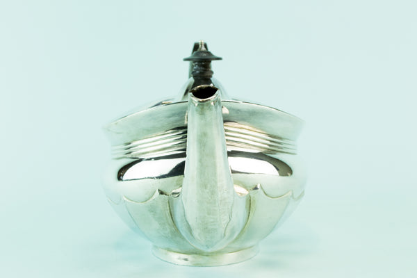 Large silver plated teapot, circa 1930 by Lavish Shoestring