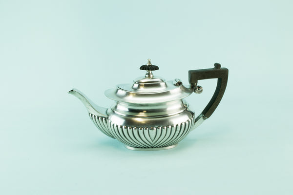 Small gadrooned teapot, 1930s