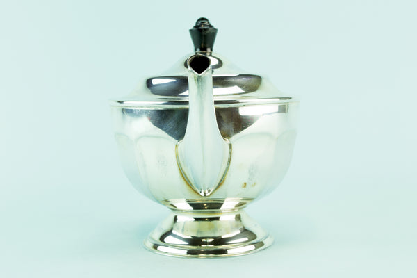 Silver plated teapot, circa 1960 by Lavish Shoestring