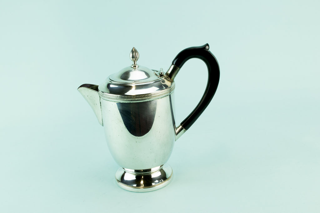 Art Deco coffee pot, 1930s