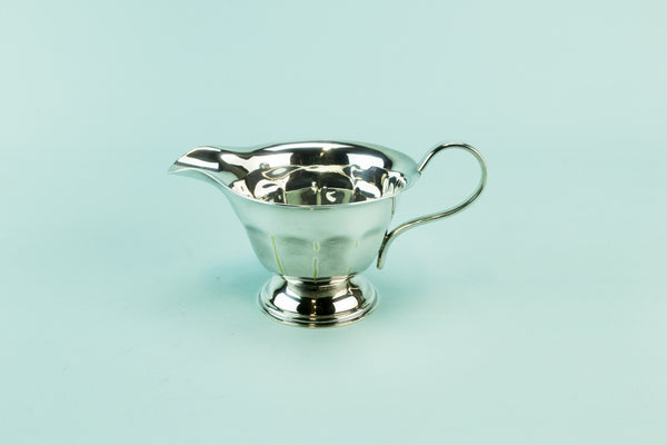 Silver plated creamer, mid 20th c