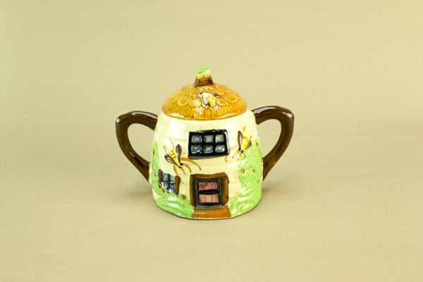 Cottage sugar bowl, circa 1950