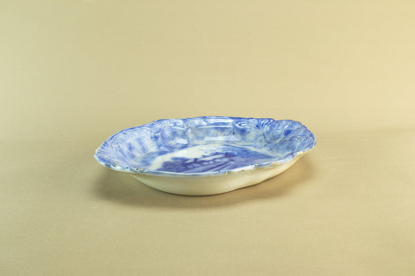Pale blue and white bowl, late 19th c by Lavish Shoestring