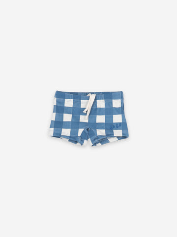 Vichy Swim Boxer Blue - Zirkuss