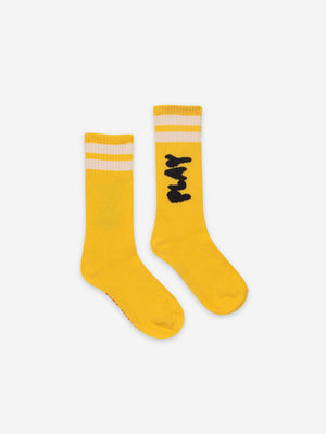Play Yellow Long Socks - Zirkuss