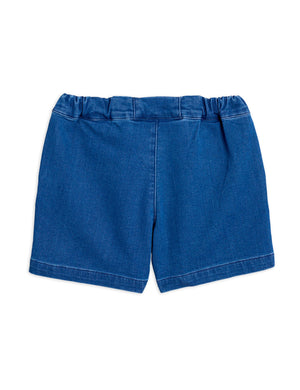 Denim Strawberry Shorts Blue - Zirkuss