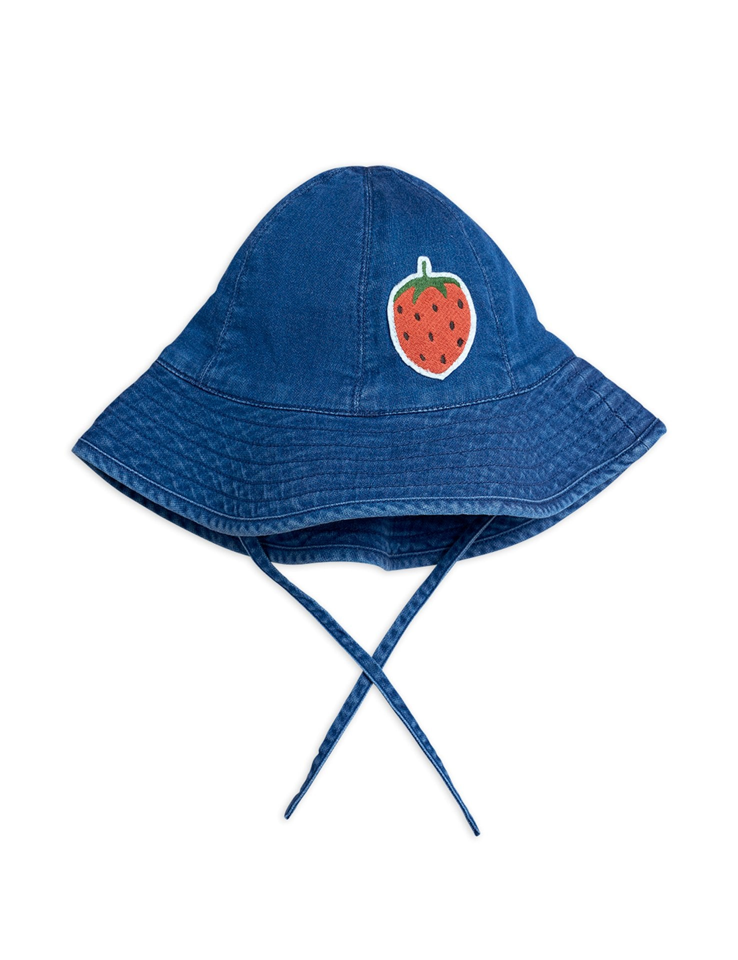 Denim Strawberry Sun Hat - Zirkuss