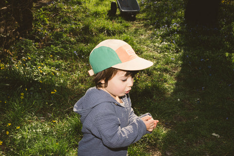 Calvin Colorblock Nature 5-panel Kids Cap