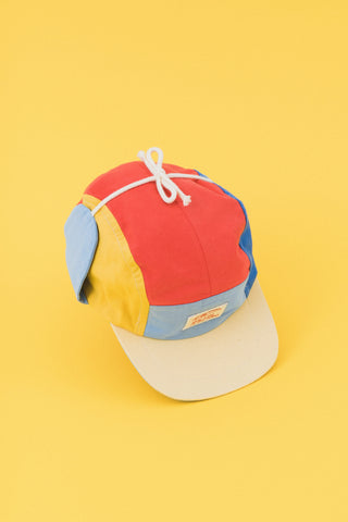 Wolly Colorblock Multi 5-panel Baby Cap