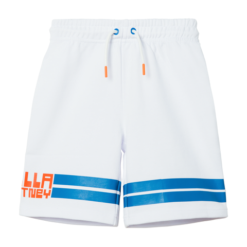 Pure White Sport Shorts with Stella Print (no beschreibung) - Zirkuss