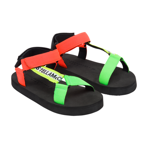 Multicolor Tape Sandals (no beschreibung) - Zirkuss