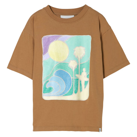KING Caramel Palm - Short Sleeves T Shirt - Zirkuss