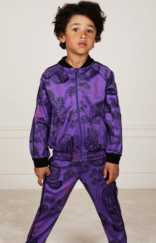 Tigers Wct Trousers Purple - Zirkuss