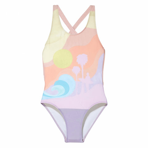OLIVIA Parma Palm Surf - Swimsuit - Zirkuss