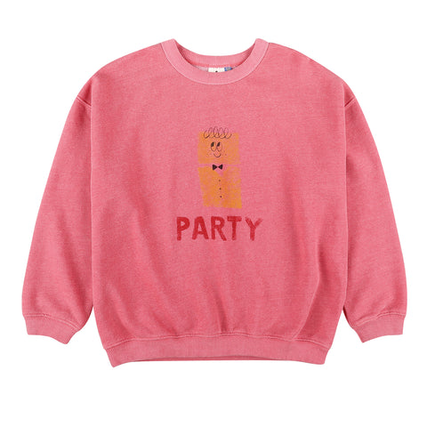 Party Sweatshirt Cherry Pink Jelly Mallow | Zirkuss