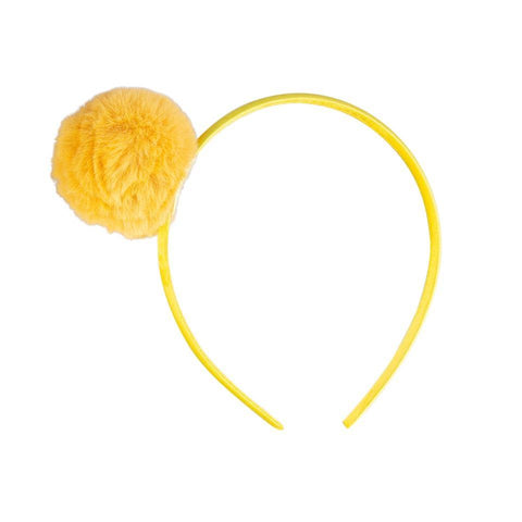 Accessoires, Accessoires - Hairband Pompon Yellow