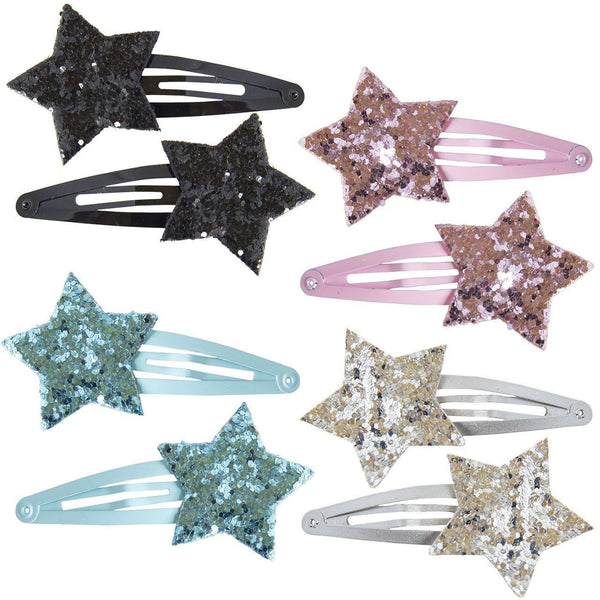 Accessoires, Accessoires - Hairclips Shiny Stars