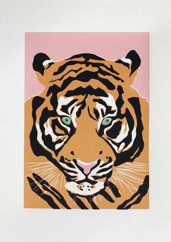 Linostudio Print ,Rocco the Tiger' Linostudio | Zirkuss