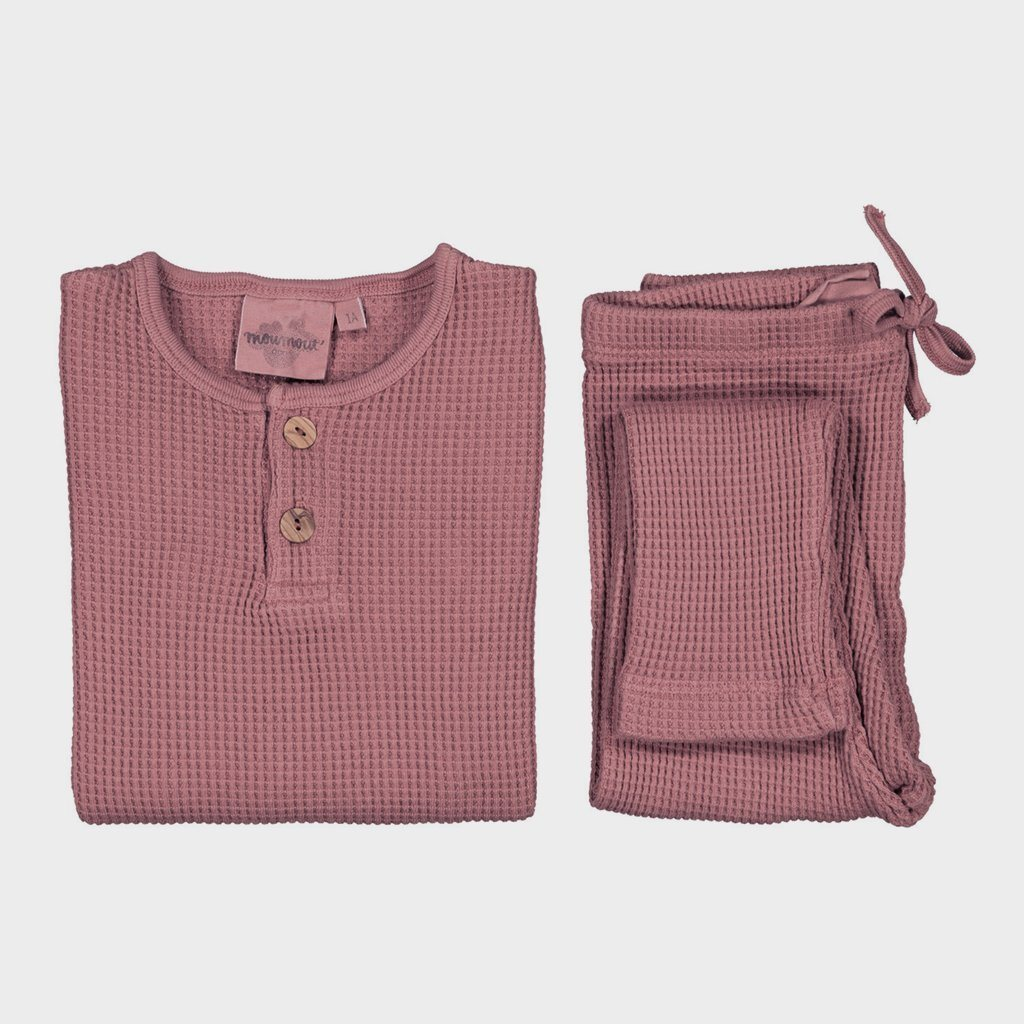 Accessoires, Accessoires - Moumout Pyjama Ours Bee Old Pink