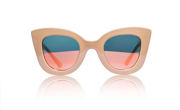 Accessoires, Accessoires - Sons & Daughters Sunglasses Cat-Cat Tan With Pink Revo