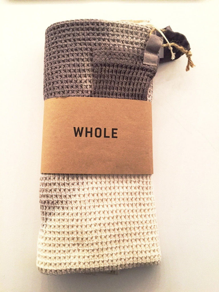Accessoires, Accessoires - WHOLE Badetuch Grey