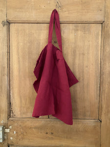 Linge Particulier Bag Large Beetroot - Zirkuss