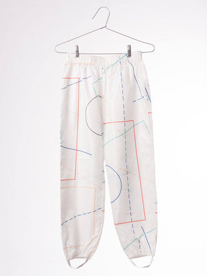 Bobo Choses Trousers Waterproof Court - Zirkuss