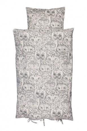 Soft Gallery Baby Duvet Owl Cream Soft Gallery | Zirkuss
