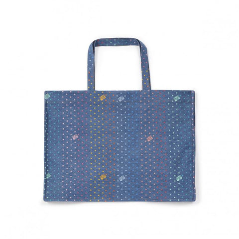 Bags - Denim Shopping Bag