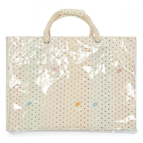 Rainbow Semi-Star Bonton Shopping Bag BonTon | Zirkuss