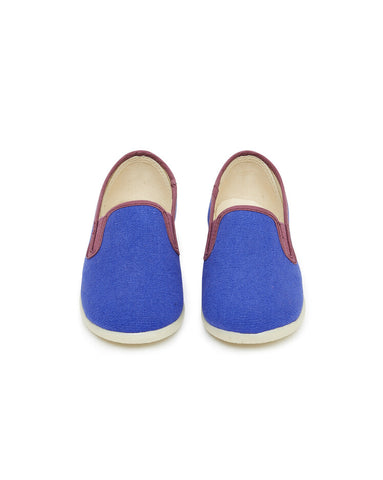 Boy Slippers John Bleu Fou - Zirkuss