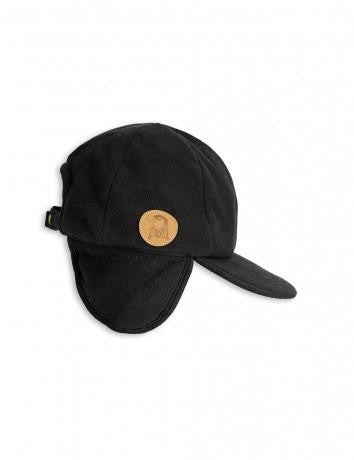 Cap Fleece Black Mini Rodini | Zirkuss