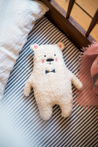 "Deco & Toys - Cuddly Toy Polar Bear ""Wim"""