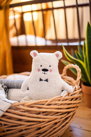 "Cuddly Toy Polar Bear ""Wim"" Ava & Yves 