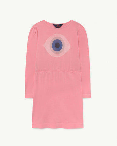 Crab Kids Dress Pink Eye - Zirkuss