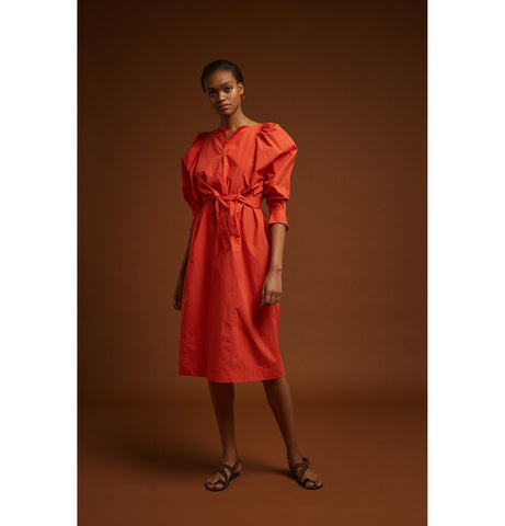 Favignana Dress Vermillion - Zirkuss